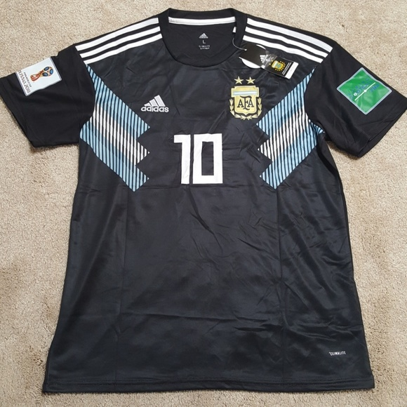 best sneakers 4eaa2 708d4 Messi Argentina World Cup Jersey New